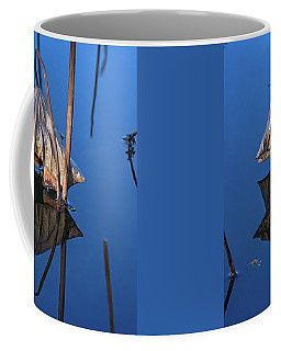 Coffee Mug featuring the photograph Only In Still Water by Linda Lees