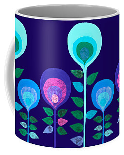 Space Flowers Coffee Mug