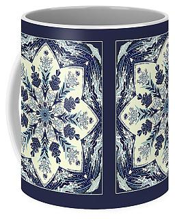 Deconstructed Sea Mandala Coffee Mug