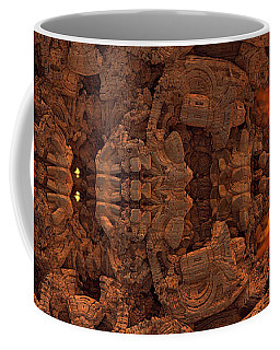 Wood Carving Coffee Mug
