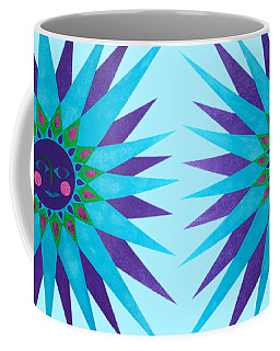 Jeweled Sun Coffee Mug