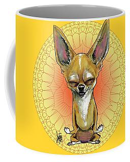 Meditating Chihuahua Coffee Mug