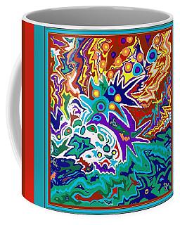 Life Ignition Option 2 With Borders Coffee Mug
