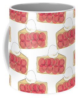 Cherry Pie- Art By Linda Woods Coffee Mug
