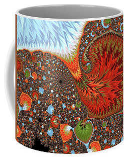 Leaves That Are Falling Around Me Coffee Mug