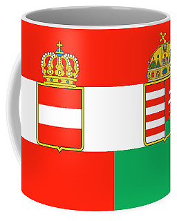Merchant Ensign Of Austria-hungary 1869-1918 Coffee Mug