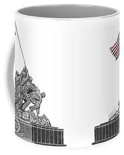 Marine Corps War Memorial - Iwo Jima Coffee Mug