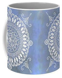 Paisley Moon Henna Mandala Coffee Mug