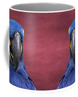 Cheeky Macaw Coffee Mug