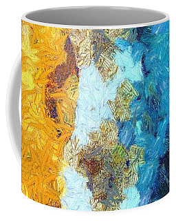 Here Shall Thy Proud Waves Be Stayed Coffee Mug