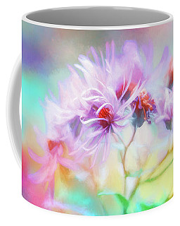 Asters Gone Wild Coffee Mug