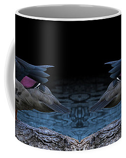Bronze-winged Duck Coffee Mug