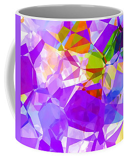 Purple Mix Abstract Coffee Mug