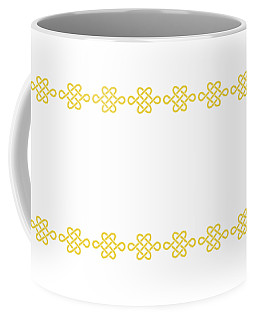Treasure Knot In Yellow Coffee Mug