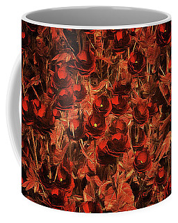 Deep Secret Roses Coffee Mug