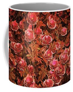 Pink Bionica Roses Coffee Mug
