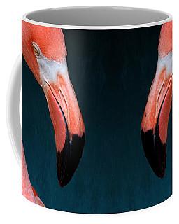 Entirely Unimpressed Flamingo Coffee Mug