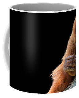 Cute Young Orangutan Coffee Mug