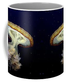 Invasion Of The Japanese Sea Nettles Coffee Mug