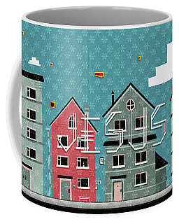 My Home My God Coffee Mug