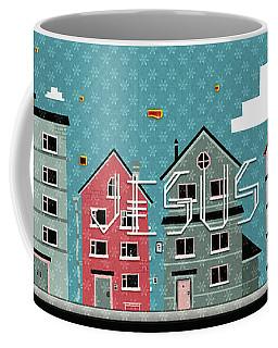 My Home My God Coffee Mug