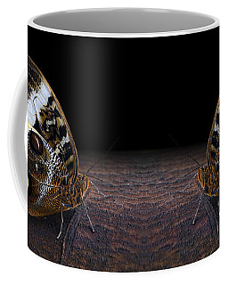 Yellow-edged Giant Owl Butterfly Coffee Mug