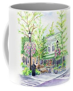 Across The Plaza Coffee Mug