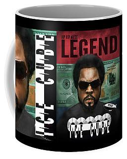 Coffee Mug featuring the digital art Ice Cube  by Dwayne Glapion