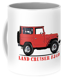 The Land Cruiser Fj40 Coffee Mug
