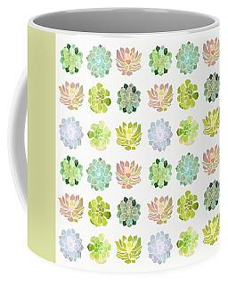 Spring Succulents Coffee Mug