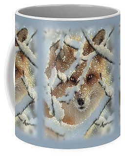 Red Fox - Hide And Seek Coffee Mug