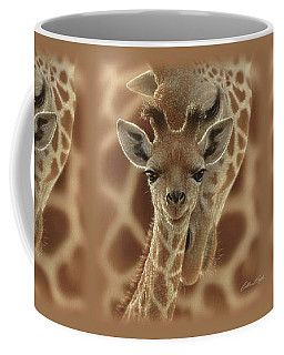 Giraffe Baby - New Born Coffee Mug