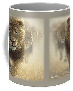 Lions Running - Eat My Dust Coffee Mug