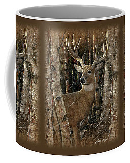 Deer - Birchwood Buck Coffee Mug