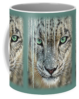 Snow Leopard - Blue Ice Coffee Mug