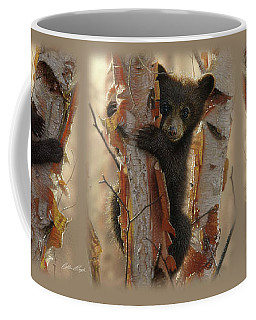 Black Bear Cub - Curious Cub Coffee Mug