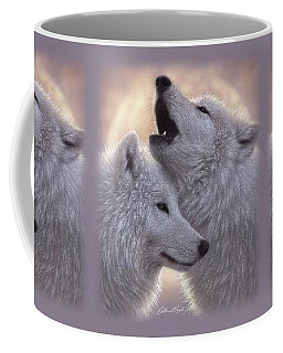 Wolves Howling Moon - Love Song Coffee Mug