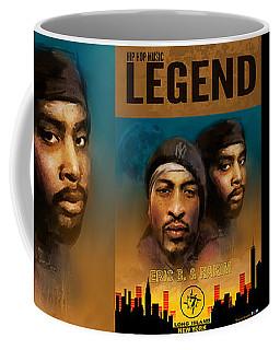 Coffee Mug featuring the digital art Eric B. And Rakim by Dwayne Glapion