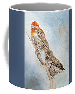 House Finch Couple Coffee Mug