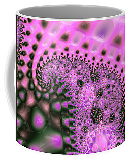 Pink Elephants Are In The Grass Coffee Mug