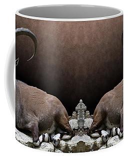 Nubian Ibex Portrait Coffee Mug