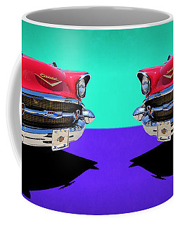 Chevrolet Bel Air Color Pop Coffee Mug