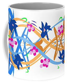 Abstract Garden #3 Coffee Mug