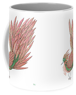 Flippy The Feather Duster, The Exotic Bird Coffee Mug