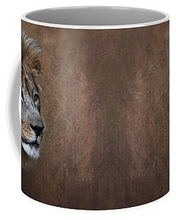 Coffee Mug featuring the photograph Elderly Gentleman Lion by Debi Dalio