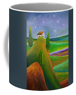 Starry Summer Night Coffee Mug
