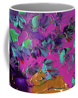Razberry Ocean Of Butterflies Coffee Mug