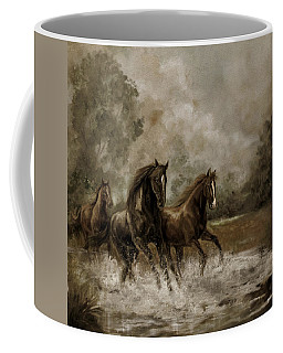 Horse In Motion Coffee Mugs