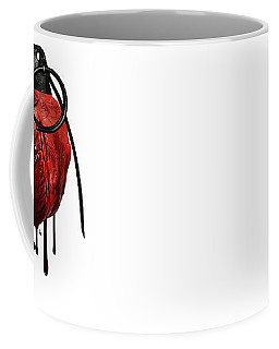 Heart Grenade Coffee Mug