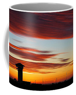 Sunrise Over Golden Spike Tower Coffee Mug